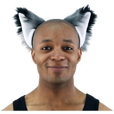 Amazon.com: Pawstar Furry Fox Ears Headband Wolf Halloween Costume... ❤ liked on Polyvore featuring costumes, wolf costume, adult halloween costumes, adult fox costume, wolf halloween costume and adult costumes