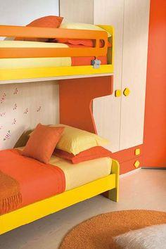 Cameretta per bambini. Bedroom for kids.