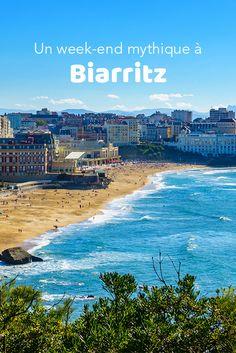 Travel Around The World, Around The Worlds, Station Balnéaire, Ville France, Biarritz, Belle Villa, Destination Voyage, Week End, Places To Go
