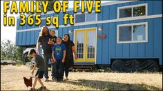Family of Five Downsize to a Nerdy Tiny House with NO Mortgage