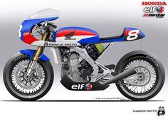 HONDA CRF 450 ... (Cafe Racer-Funnily-Further-Free-Fetish-Fest...)