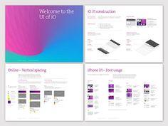 Swisscom iO - Identity Guide by Moving Brands- focus on UI