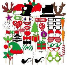 Christmas Photo Booth Printable Props