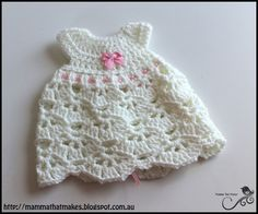 Mamma That Makes: Lyra Gown - Free Crochet Pattern