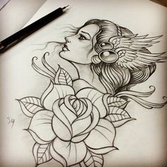 Rose by Moviemetal3 on DeviantArt