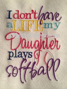 I don't have a Life my SON DauGHTeR plays by astitchforyou on Etsy, $3.75
