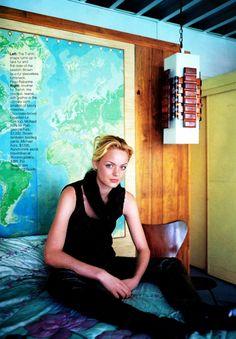 ☆ Farrah Summerford | Photography by Gilles Bensimon | For Elle Magazine US | September 1996 ☆ #Farrah_Summerford #Gilles_Bensimon #Elle #1996