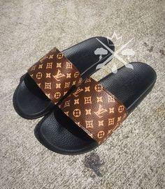 5201176ec 10 Best Louis Vuitton slides images in 2018 | Shoes sandals, Tap ...