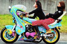 Asian sport bike