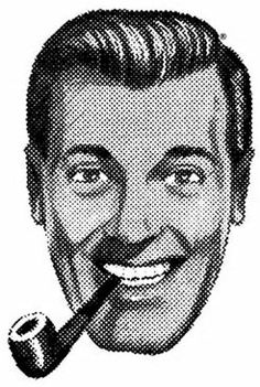 "JR ""Bob"" Dobbs, Highest Priest of the Church of the Subgenious"
