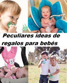 Peculiares ideas de regalos para bebes