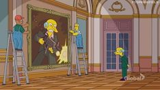 The Simpsons Comedy Central, The Simpsons, Cartoon Network, Animation, Animation Movies, Motion Design
