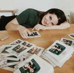 Lana Del Rey signing Lust for Life CD's in London