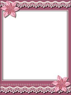 Wedding Invitation Background, Floral Invitation, Boarders And Frames, Printable Frames, Birthday Frames, Flower Background Wallpaper, Decoupage Vintage, Frame Clipart, Paper Frames