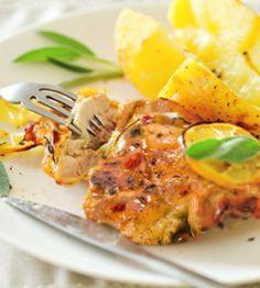 Light Spicy Lemon Chicken | WeightWise Bariatric Program
