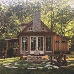 The perfect little cabin.