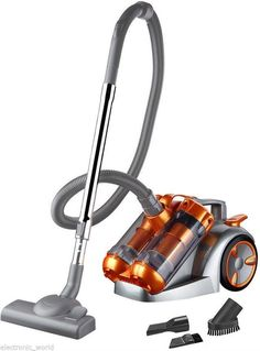 DUAL CYCLONE 3000W POWER 5L CYCLONIC BAGLESS VACUUM CLEANER CYLINDER HOOVER in Haushaltsgeräte, Staubsauger, Staubsauger | eBay