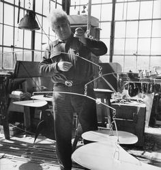 """""""I like black and white, that's one thing and then, black and white and red, red's very...it's the only color that really counts somehow. Then you just use the other colors to do [gestures] (LOL)."""" - Alexander Calder"""