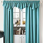 I really want these turquoise curtains