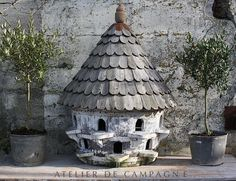 SOLD #22/154 B Wooden English Dovecote SOLD