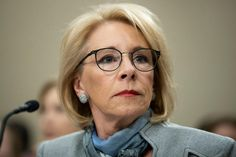 DeVos Backs Down, Agrees To Process Student Loan Forgiveness Applications Private School, Public School, American Federation Of Teachers, Student Loan Forgiveness, Betsy Devos, School Choice, Get Educated, Sites Online, Obama Administration