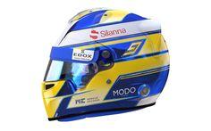 Marcus Ericson 2017 helmet Marcus Ericsson, F1 2017, Indy Cars, F 1, Honda, Helmets, Racing, Formula 1, Gears