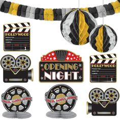Hollywood Party Decorating Kit - Party City