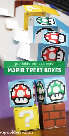 Easy Printable Mario