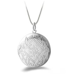 Fancy Women's Fashion Silver Plated Carving Locket Pendant Chain Necklace Jewelry With photo 5K5O