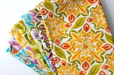 Quick and Easy Cloth Napkins