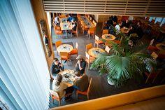 Cafe Sellan Kaffila. - Decor center Sella.  Jurva, South Ostrobothnia province of Western Finland. - Etelä-Pohjanmaa.