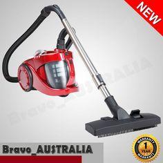 Bagless Cyclone Cyclonic Vacuum Cleaner HEPA RED Powerful 2800W Bagless Vaccum