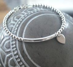 925 Sterling Silver lotus petal minimalist by KatieBourchier