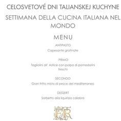Túžite sa aj vy niekedy iba tak na večer preniesť do atmosféry Talianska vychutnať si romantickú večeru či stráviť príjemné chvíle s priateľmi pri dobrom víne a špecialitách priamo od talianskeho šéfkuchára? Malý kúsok pravého Talianska nájdete v Nitre na pohľad v nenápadnej no vo vnútri okúzľujúcej Friends and Rosario ristorante kam keď vkročíte zaručene máte pocit že tento večer bude niečím výnimočný. O to viac keď sa o vaše chuťové poháriky postará pravý taliansky šéfkuchár - Rosario…
