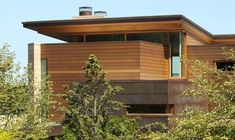 Calkins Point Residence 2 - wooden exterior surface