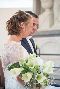 Der Moment kurz vor der Trauung... Hochzeitsreportage mit Herz.