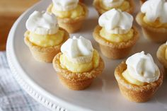 mini banana cream cookie pies - Girl Versus Dough