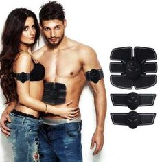 Sports & Entertainment patch Pads Modest Abdominal Cervical Electronic Ems Muscle Exerciser Body Slimming Shaper Power Muscle Trainer Arm Exercise Equipment