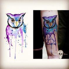 Owl Deathy Hallows
