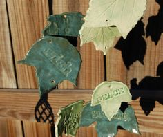 Handcrafted Inspiring Thoughts Ceramic Wind by AugustaWyndeDesigns, $54.00