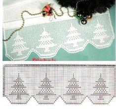 15 PATRONES de CROCHET para NAVIDAD Christmas Bells, All Things Christmas, Christmas Decorations, Christmas Ornaments, Made A Mano, Fillet Crochet, Christmas Crochet Patterns, Crochet Borders, Crochet Doilies