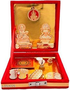 Pooja Needs Traditional Home Decor Material: Brass Metal Size:  4.5 inch Description: It Has 1 Piece Of Shri Kuber Dhan Laxmi Varsha Yantra Country of Origin: India Sizes Available: Free Size   Catalog Rating: ★3.9 (545)  Catalog Name: Elite Traditional Home Decor Vol 1 CatalogID_411839 C128-SC1315 Code: 451-3014779-