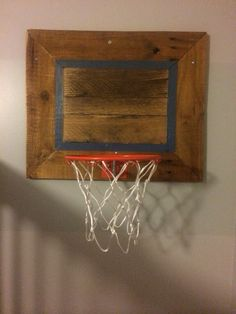 Pallet old school basketball hoop and backboard hoop was for Homemade basketball court