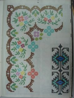Bargello, Cross Stitch Patterns, Diy And Crafts, Toyota, Kids Rugs, Sewing, Home Decor, Gardening, Letters With Flowers