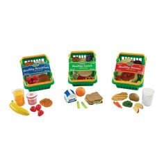 Found it at Wayfair - 55-Piece Healthy Foods Play Set