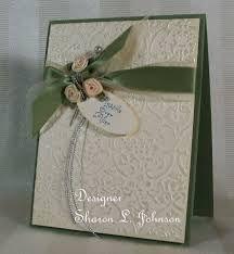 cuttlebug wedding cards - Google Search