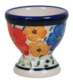 Egg Cup 351ar Soft Boiled Eggs Cups Polish Pottery