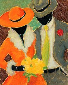 Black art. Follow us @SIGNATUREBRIDE on Twitter and on FACEBOOK @ SIGNATURE BRIDE MAGAZINE