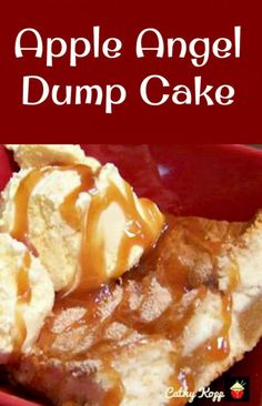 This delicious recipe has been generously shared by one of our Lovefoodie supporters, Cathy Kopp. Cathy is always cooking delicious Home made dishes, and just loves to cook. Here, Cathy's Apple Angel Dump Cake Angel Food Dump Cake Recipe, Angel Food Cake Desserts, Angle Food Cake Recipes, Pear Recipes, Dump Cake Recipes, Homemade Desserts, Dessert Recipes, Frosting Recipes, Easy Desserts