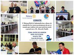 Rotary Club de Indaiatuba Cocaes: Reunião do Rotary Club de Indaiatuba Com Palestra ... Rotary Club, Friendship House, Prostate Cancer